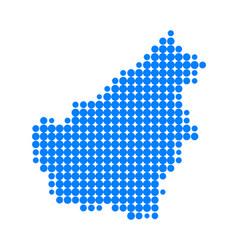 map of borneo vector image