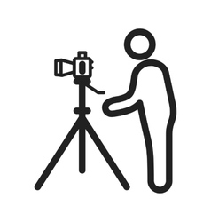 Photographer I vector