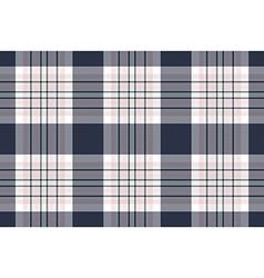 Seamless check shirt fabric texture vector