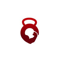 Strong gym logo vector