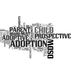 What are the procedures to adopt a thai child vector