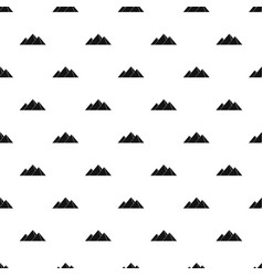 pyramids in giza pattern vector image