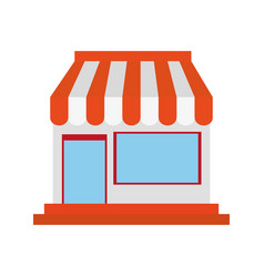 small store or shop icon image vector image vector image