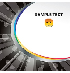 template 10 vector image vector image