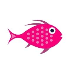 Abstract aquarium fish underwater nature vector