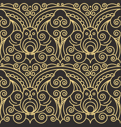 Abstract art deco seamless pattern 03 vector