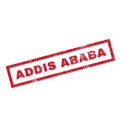 Addis Ababa Rubber Stamp vector