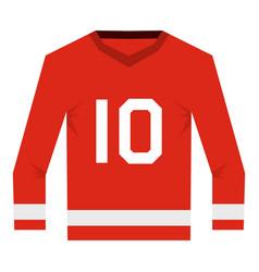 Canadian hockey jersey icon isolated vector