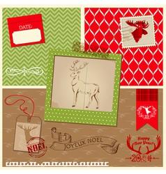 Christmas Reindeer Set vector