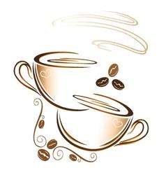 Coffee coffee cup vector