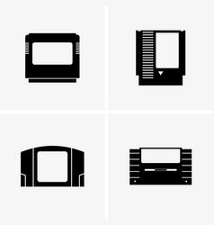 Game cartridge vector