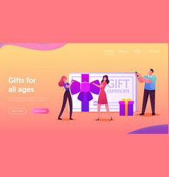 Gift certificate consumerism price off promo vector