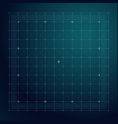 Grid for futuristic hud interface line technology vector