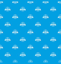 Gyro scooter pattern seamless blue vector