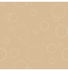 Seamless geometric pattern texture with circles vector image