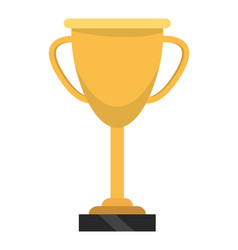 Trophy cup cartoon vector