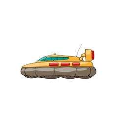 kids toy hovercraft vector image vector image