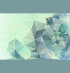 abstract triangle background modern geometric vector image vector image
