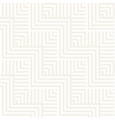 abstract zigzag parallel stripes stylish ornament vector image