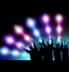 Colored Nightlife vector image vector image
