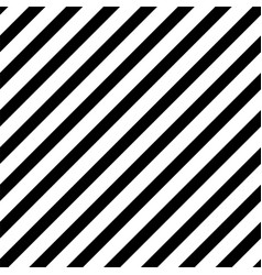 bold diagonal black stripe seamless pattern vector image