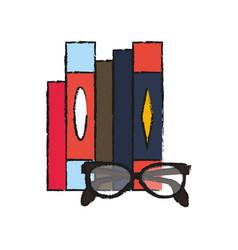 books icon image vector image