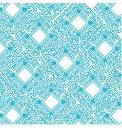 Colorful and triangular mandalas pattern vector