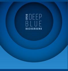 empty dark blue ocean abstraction business vector image