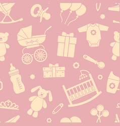 seamless background on theme of vector image