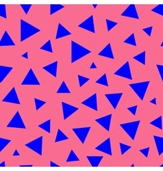 Triangle chaotic seamless pattern 7507 vector image