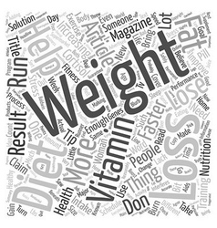 Weight Loss Tips Guaranteed To Help You Lose vector