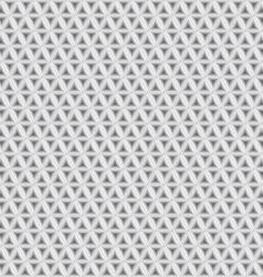 White Geometric Texture vector image