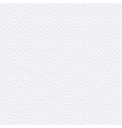 White seamless pattern in arabian style vector
