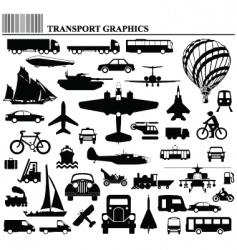 Transport graphics vector