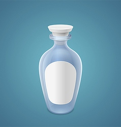 Empty bottle vector image vector image