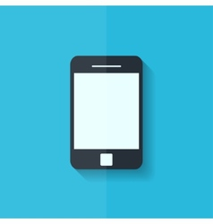 Smartphone icon Tablet symbol Flat design vector image