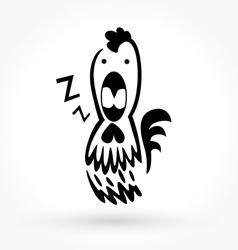 Chicken icon vector image