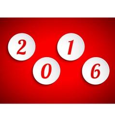 Happy new year 2015 design element vector image
