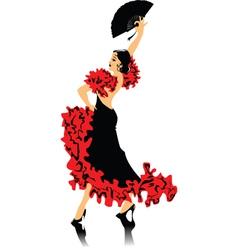 Spanish dancing vector