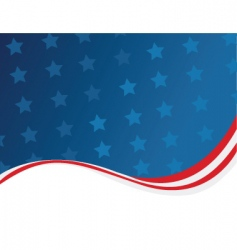 usa template vector image vector image