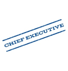 Chief Executive Watermark Stamp vector