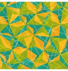 Geometry colorful background design vector