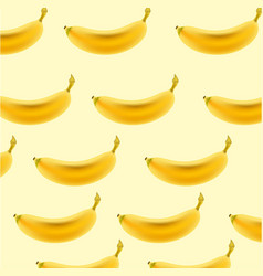 pattern with bananas tropical abstract background vector image
