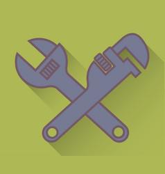 Repair tools design vector