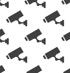Security camera seamless pattern vector