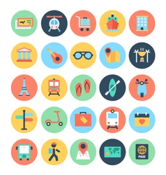 Travel Icons 2 vector