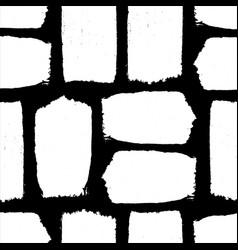 white textured brush stroke seamless pattern vector image