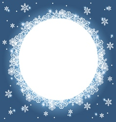winter background 3 vector image