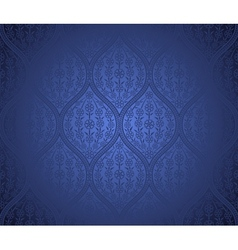 Seamless moroccan pattern background vector image vector image