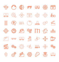49 motion icons vector